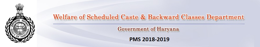 WELFARE OF SCHEDULED CASTE AND BACKWARD CLASSES DEPARTMENT